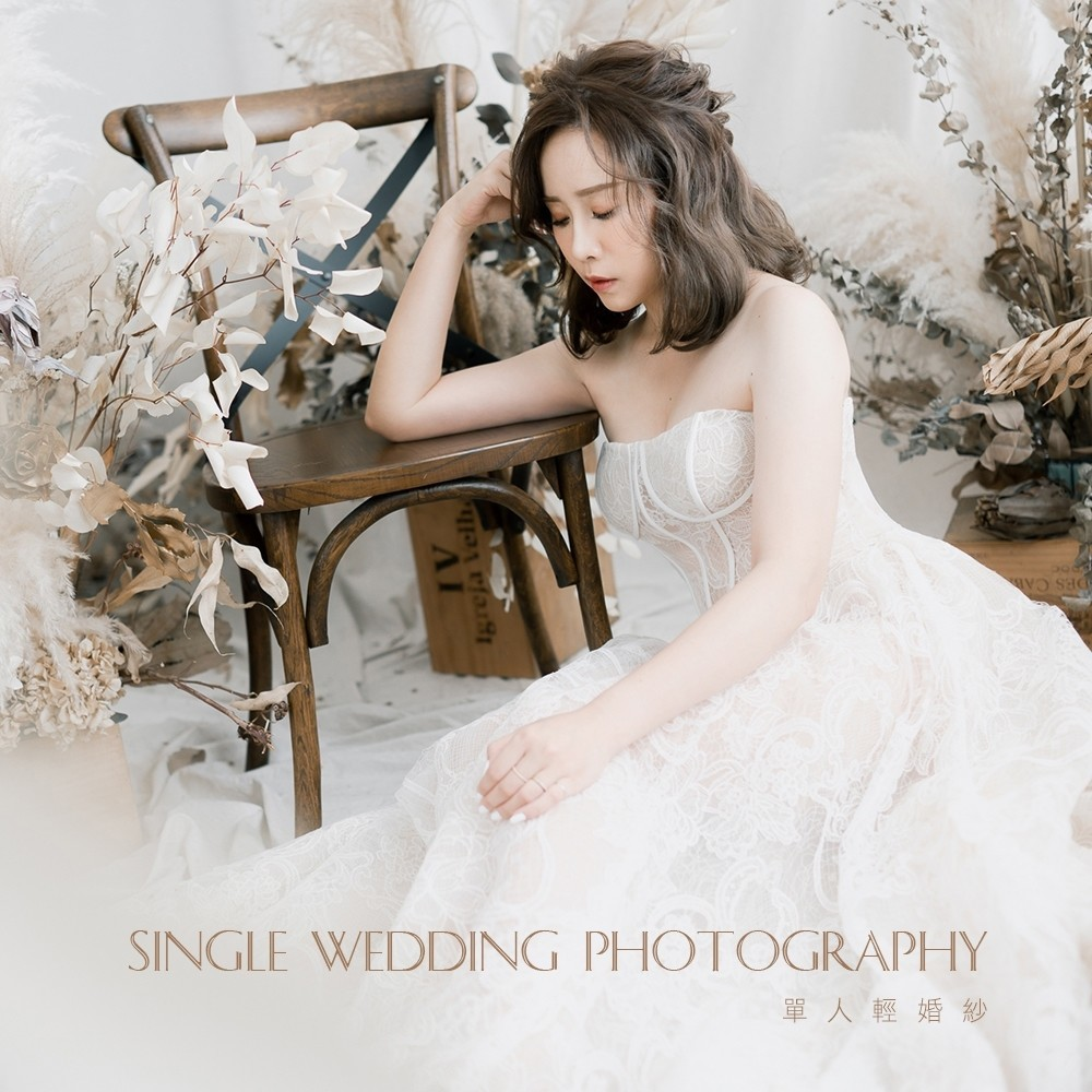 SINGLE WEDDING PHOTOGRAPHY。35歲的紀念。
