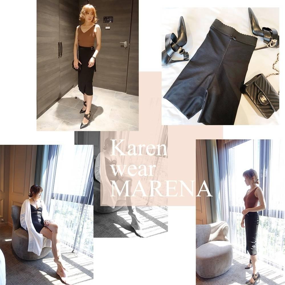 穿出來的優雅體態,穿得住的Marena。