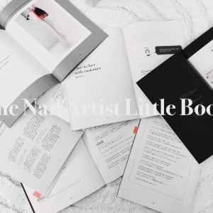 The Nail Artist Little Book。---收到樣書的感動。